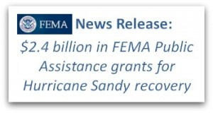 FEMA grants to disaster-prone areas