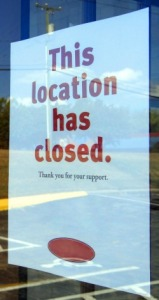Small businesses never reopen after a disaster.