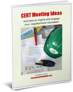 CERT Meeting Ideas, Emergency Plan Guide