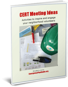 CERT Meeting Ideas