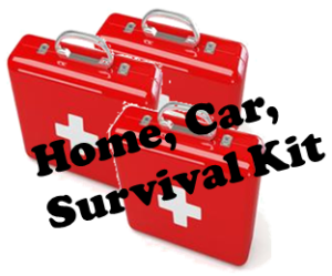 First Aid Kits for home, car, survival kit