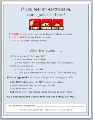 How to protect yourself during an earthquake and afterwards
