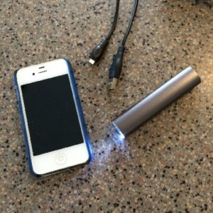Power Bank with Flashlight