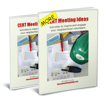 CERT Meeting Ideas Set