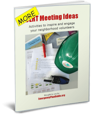 MORE CERT Meeting Ideas