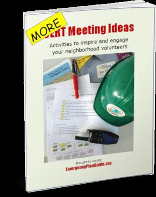 MORE CERT Meeting Ideas