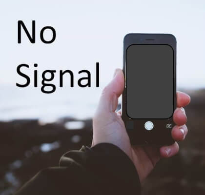 Cell phone no signal