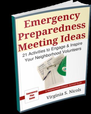 Emergency Preparedness Meeting Ideas